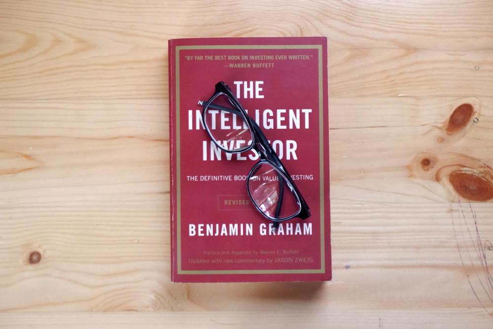 The intelligent investor book by Benjamin Graham.