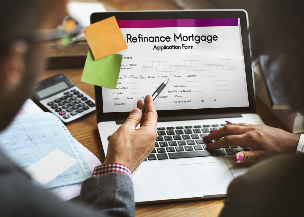 Mortgage refinancing.