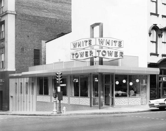 White Tower restaurant.